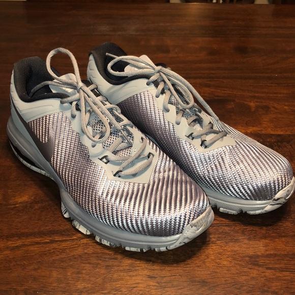 Nike AIR MAX FULL RIDE TR 1.5 TRAINING Blue Grey Shoes